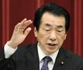 消費税率引き上げなどについて記者会見する菅首相(21日、首相官邸)