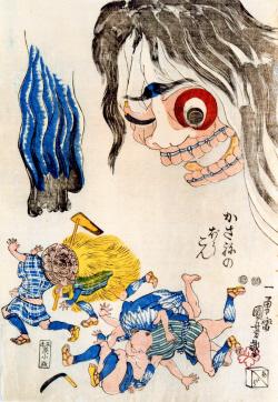 歌川国芳の錦絵、80年ぶりに確認...