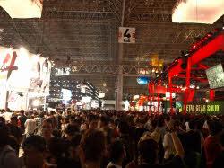 昨年開催された「東京ゲームショウ2009」の会場の様子