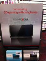 アメリカのゲームショップのニンテンドー3DSのプロモーション