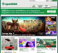 OpenFeintの公式ページ