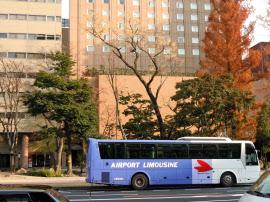 空港リムジンバスは渋滞に弱いのが悩み
