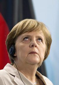 メルケル独首相は欧州全域で評価が高い(6月8日、ベルリンで記者会見に臨んだ同首相)=ロイター