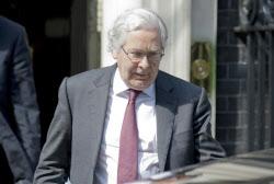 イングランド銀行のキング総裁(5月28日、ロンドン)=ロイター