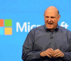 1年以内の退任を発表したマイクロソフトのバルマーCEO(6月、米サンフランシスコ)