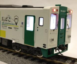 由利高原鉄道、新型車両の鉄道模型を受注生産