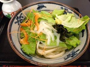 さぬき麺業が野菜不足解消のために売り出した「野菜うどん」