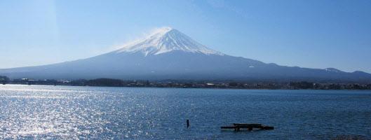 世界遺産に登録された富士山