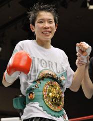 女子ボクシング世界戦、小関が13...