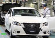 トヨタは米GMを抑え2年連続でトップとなった(愛知県豊田市の工場)