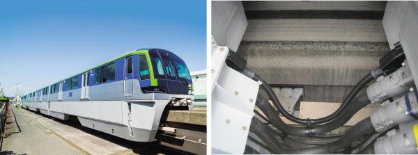 東京モノレール新型車両に「イーサネット」搭載