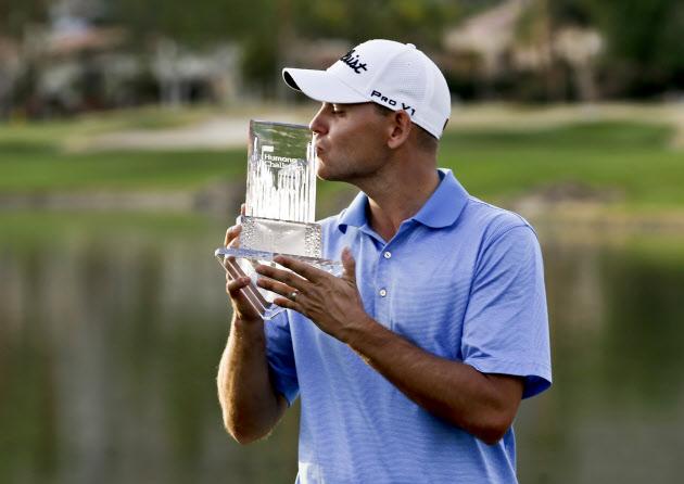 ハースが今季ツアー初勝利 米男子ゴルフ最終日