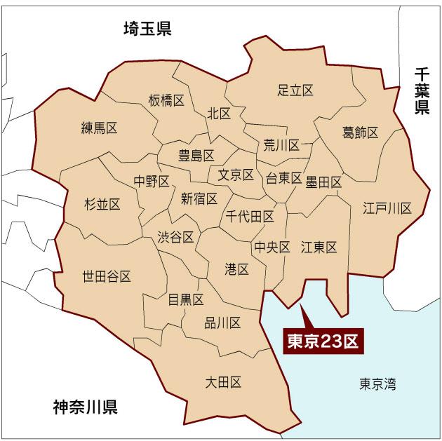 大東京35区物語~15区から23区へ~東京23区の歴史