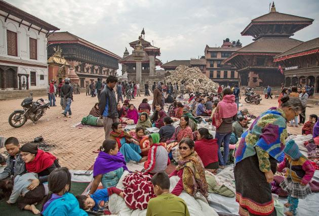 ネパール経済、地震で大打撃 観光への依…(写真=ゲッティ・共同)