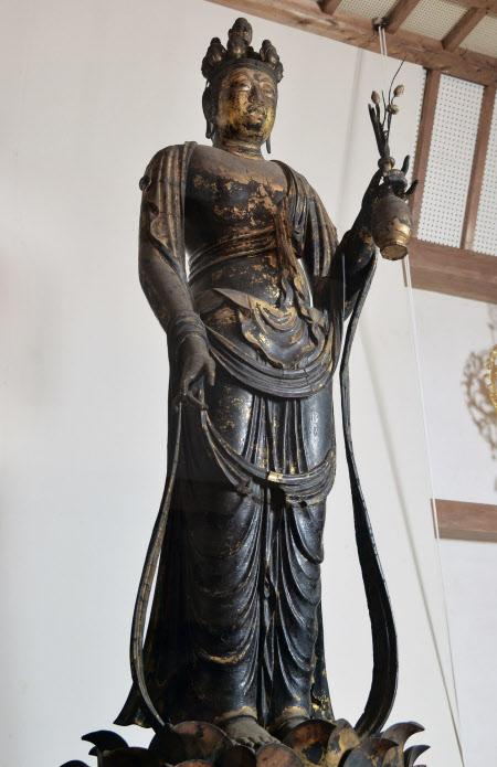 観音像守った西洋の手 フェノロサと縁ある聖林寺(時の回廊)   奈良県桜井市
