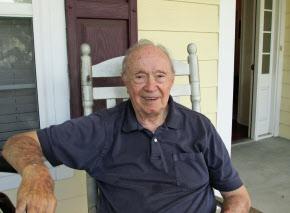 セオドア・バンカーク氏(2013年8月、米ジョージア州アトランタ郊外の自宅で)