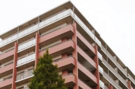 施工不良で建物の傾きが判明したマンション(横浜市都筑区)
