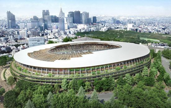 A案の新国立競技場のイメージ ... : スマホで印刷するには : 印刷