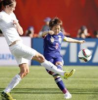 女子の15年世界ベストイレブンに宮間 国際プロサッカー選手会    サッカー 一覧