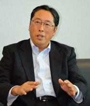 ソフトバンクグループの後藤芳光常務執行役員財務部長