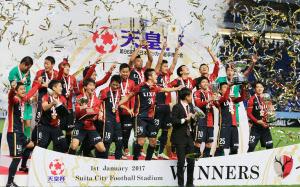 鹿島、川崎下し2冠達成 サッカー天皇杯 :日本経済新聞