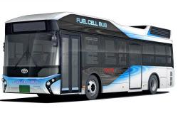 トヨタが市販化を予定している燃料電池バス