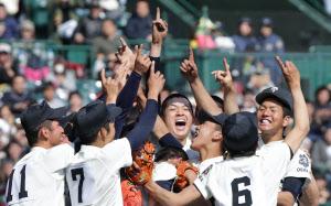 大阪桐蔭が2度目の優勝 選抜高校...