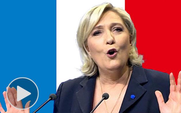 仏大統領選、二大政党の退潮鮮明 極右15年ぶり決選へ