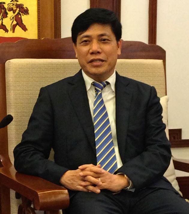 技術移転の貢献大きいベトナム運輸副大臣 グエン・ゴック・ドン氏
