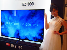 最上位モデルに位置づける有機ELテレビ「TH―65EZ1000」