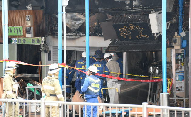 築地場外市場の火災、鎮火と発表 けが人なし
