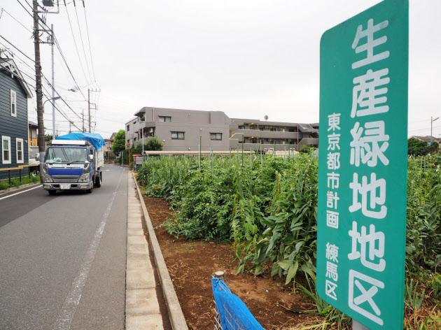 都市の緑を守るとともに宅地転用による住宅市況の悪化を防ぐ(東京都練馬区)