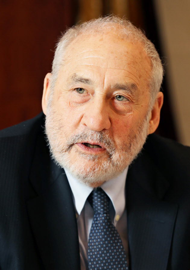 ジョセフ・スティグリッツ・米コロンビア大教授