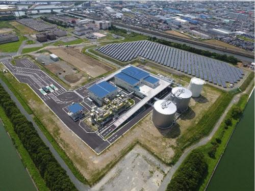 施設全体の空撮写真(出所:JFEエンジニアリング)