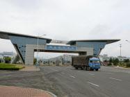 鴻海の山東省の工場