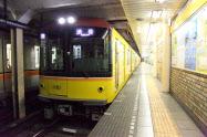 1日当たり8本の銀座線で実験する(東京メトロ提供)
