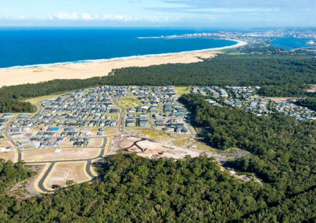 豪ローソングループが開発したシドニー近郊の戸建て住宅