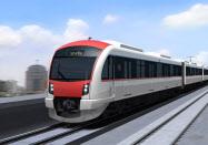 日立は東南アジアで鉄道事業などの受注拡大を目指す(タイで受注した新型都市鉄道のイメージ図)