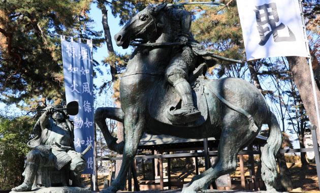 川中島古戦場史跡公園(長野市) 江戸期から名所   信越スポット
