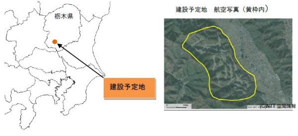 建設予定地(出所:日本アジアグループ)