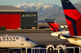 自社サイトでチベット自治区や台湾を独立国家のように扱っていた問題で、米デルタ航空は謝罪声明を発表した=ロイター