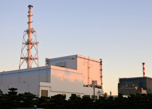 東海第2原発の行方が注目される(茨城県東海村)