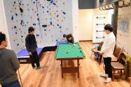 ボルダリングが設置されたシェアハウス(名古屋市)