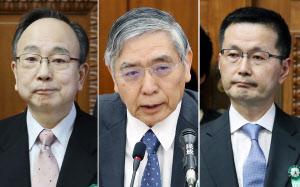 黒田日銀総裁を再任 国会、副総...