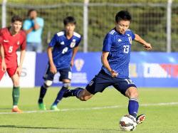 サッカーU21代表、競り勝ち1勝1...