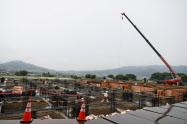 長野オートメーションは上田市の工場に新棟を建設し、EV電池生産機械を増産する(新棟建設予定地)