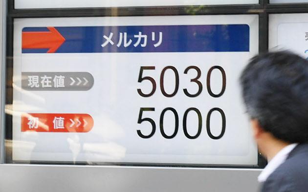 メルカリ 初日の終値5300円 公開価格を77%上回る のTwitterの反応まとめ