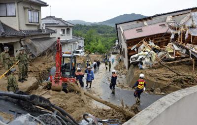 【西日本豪雨】死者91人に 2万人超が避難 ->画像>6枚