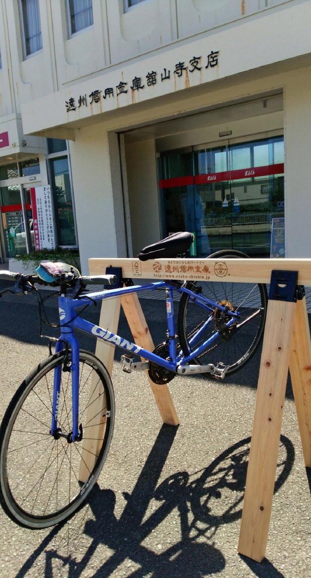 天竜ヒノキで自転車ラック のTwitterの反応まとめ