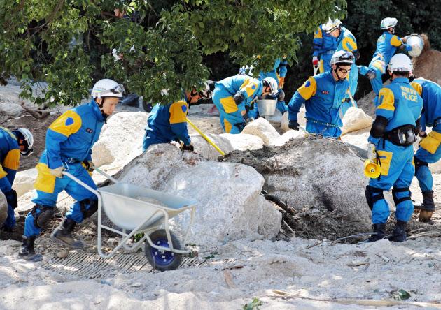 捜索・復旧阻む「コアストーン」 西日本豪雨で被害拡大 のTwitterの反応まとめ